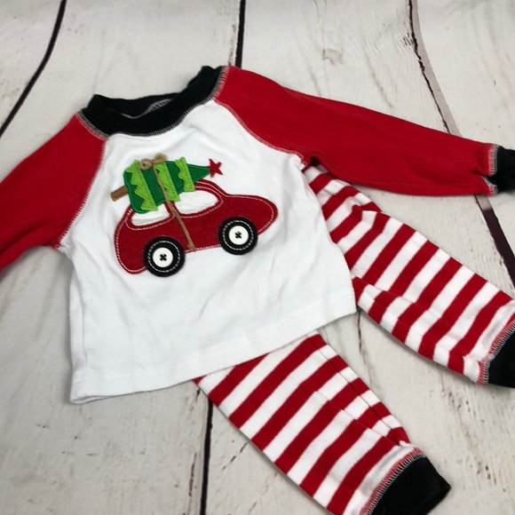 Mud Pie Boys Christmas Pajamas. M 5b3424fd4ab633bc8b13907c 227a4f278